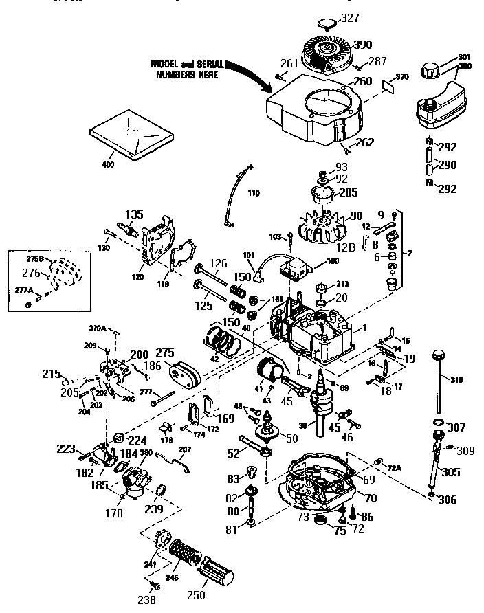 Craftsman model 987799601 chipper shredder/vacuum, gas