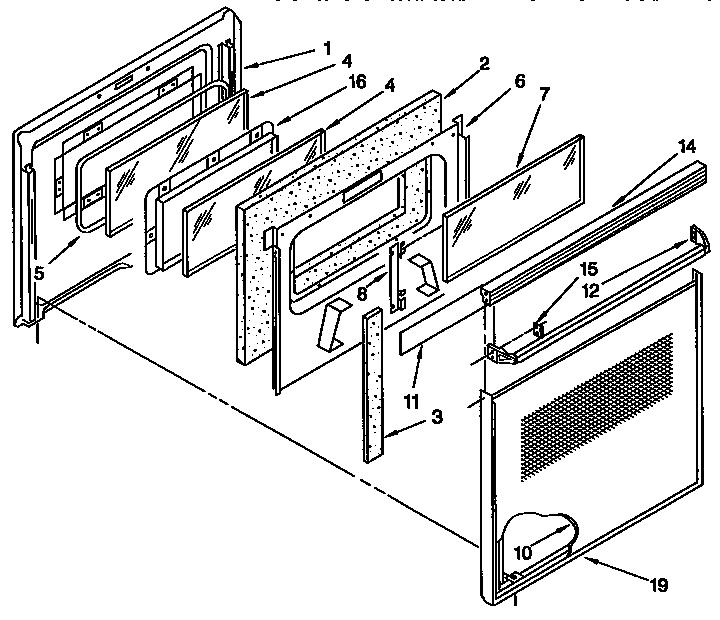 Kenmore model 6654493393 range microwave combo, electric