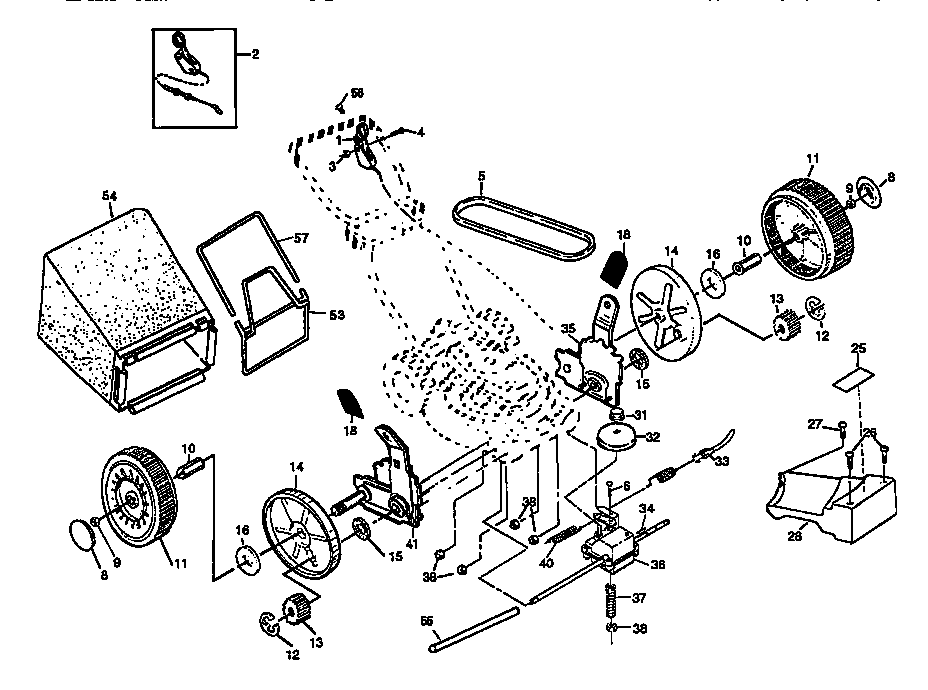 Craftsman Model 917 Mower Wiring Diagram Craftsman 917