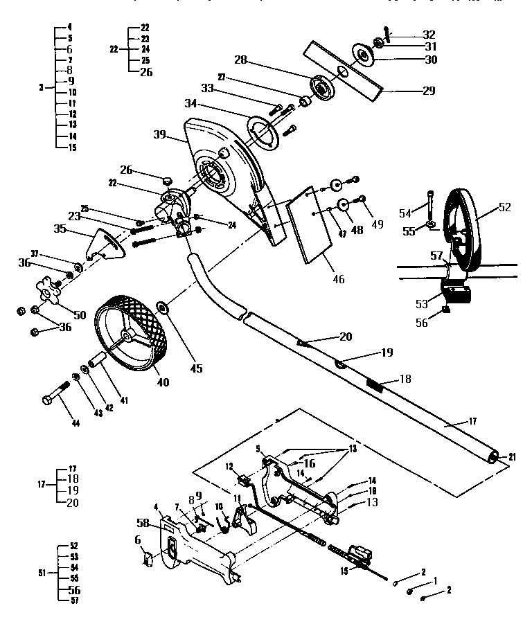 Mcculloch model TITAN 2380 GLE 12-400065-01 edger genuine