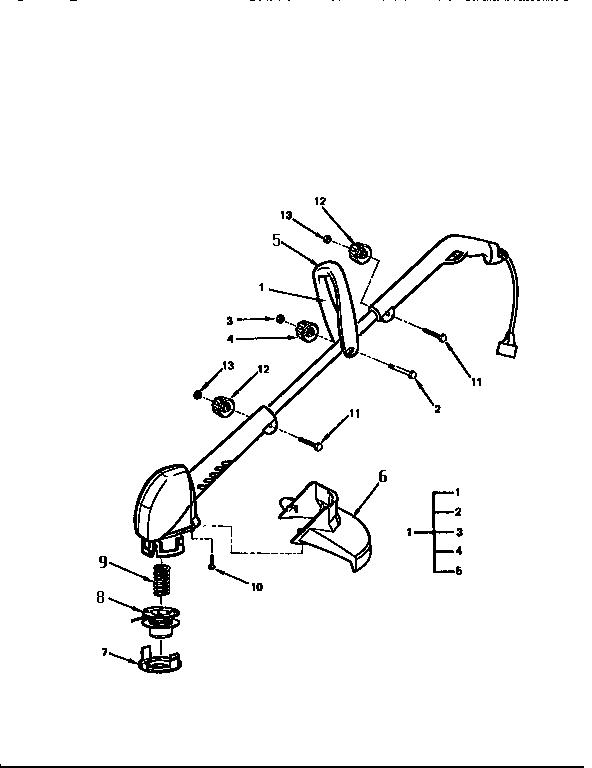 Mcculloch model SILVER EAGLE 12TE-II line trimmers