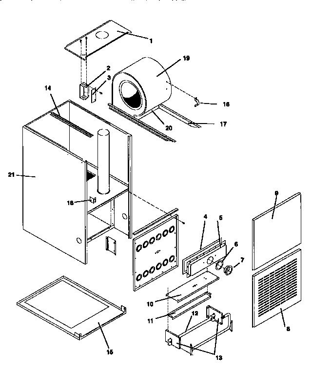 Icp model NCC5075BFB2 furnaces/heaters genuine parts