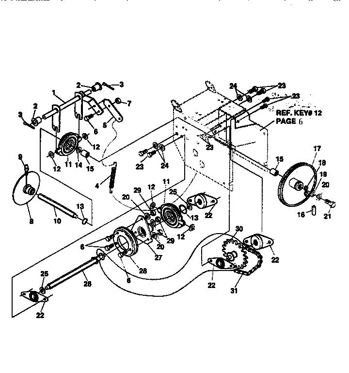 Craftsman model 536886621 snowthrower, gas genuine parts