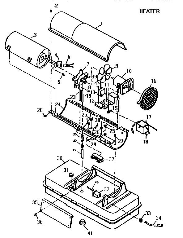 Desa model REM150A space heaters/wall unit genuine parts
