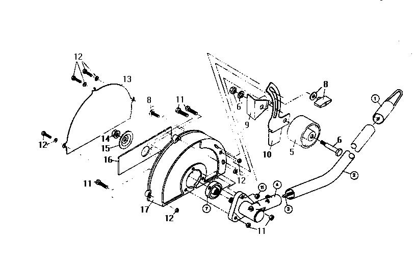 Ryobi model LE720R edger genuine parts