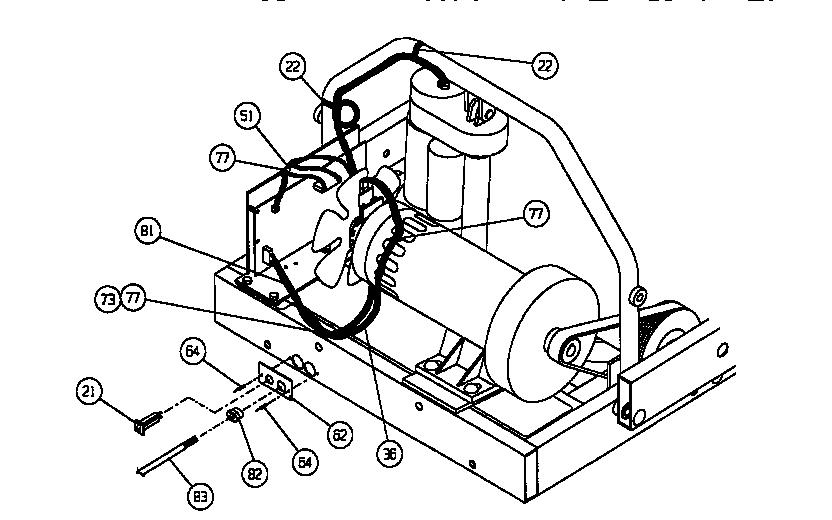 Lifestyler model 5365642 treadmill genuine parts