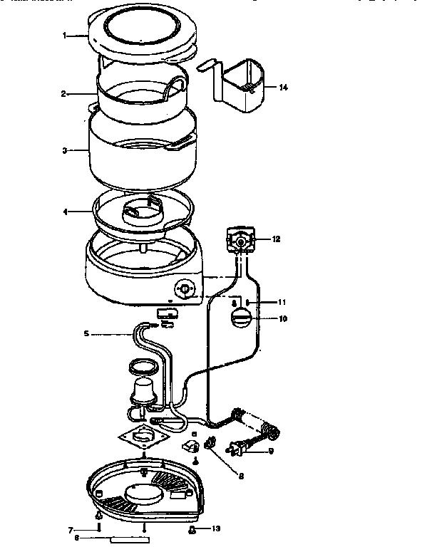 Black-Decker model HS80 steamer- food genuine parts