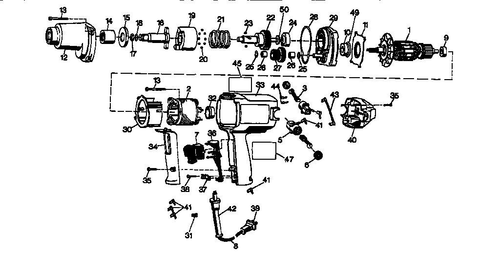 Craftsman model 900275132 impact tool genuine parts
