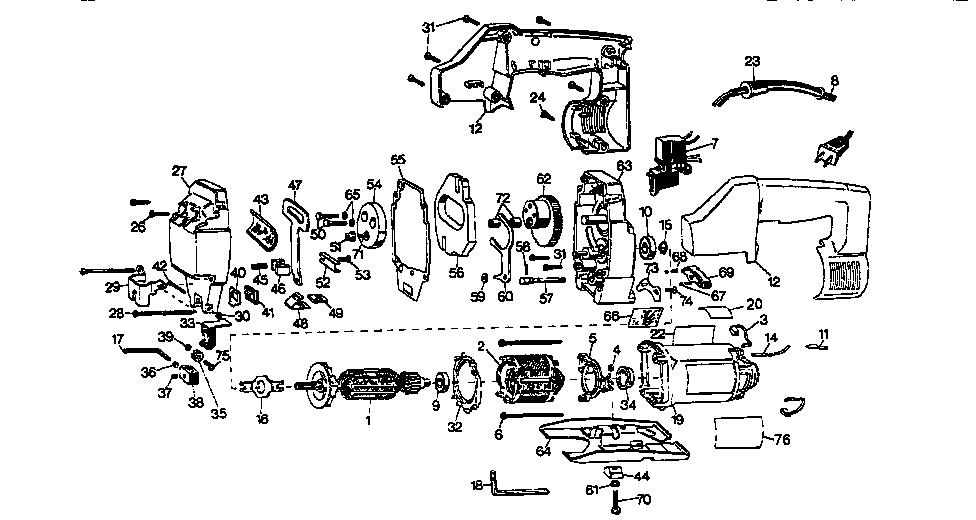 Craftsman model 900272510 saw sabre genuine parts