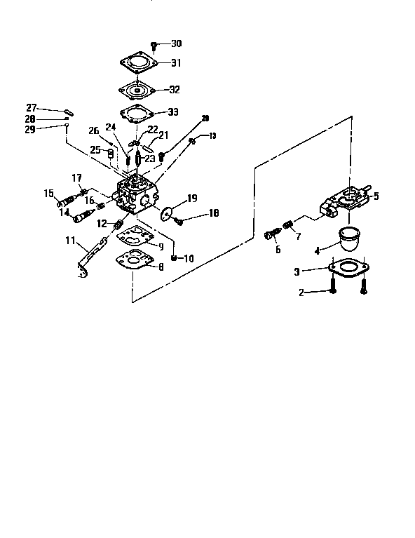 Mcculloch model TITAN 2030 12-400060-06 line trimmers