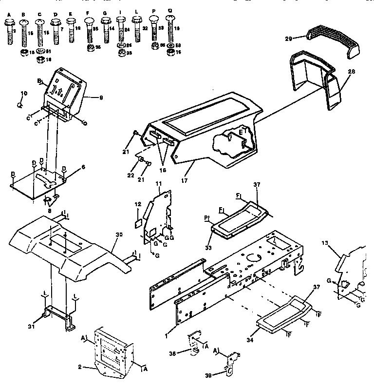 Craftsman Model 917 Drive Belt Diagram, Craftsman, Free