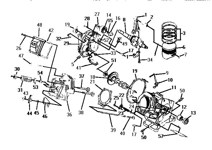Craftsman model 75165 power washer genuine parts