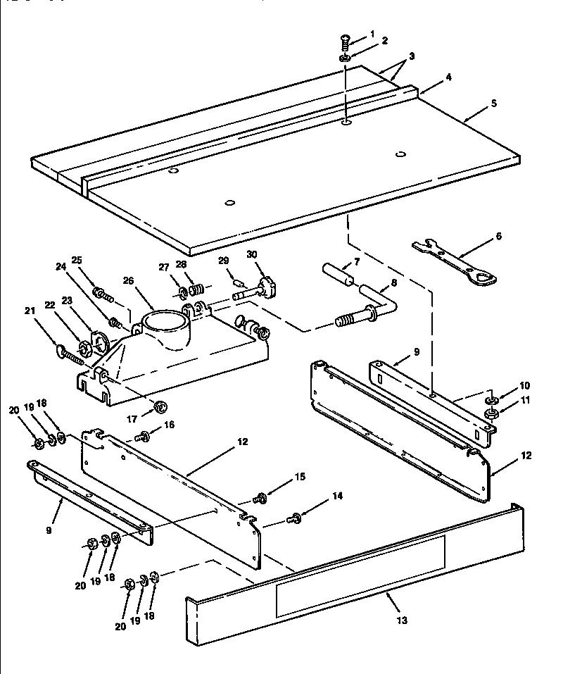 Craftsman 10 Radial Arm Saw Wiring Diagram Craftsman Mower
