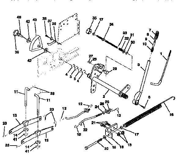 Craftsman model 917251520 lawn, tractor genuine parts