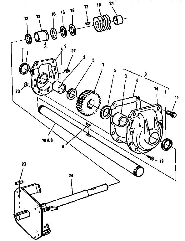Dynamark model DP-826-E snowthrower, gas genuine parts