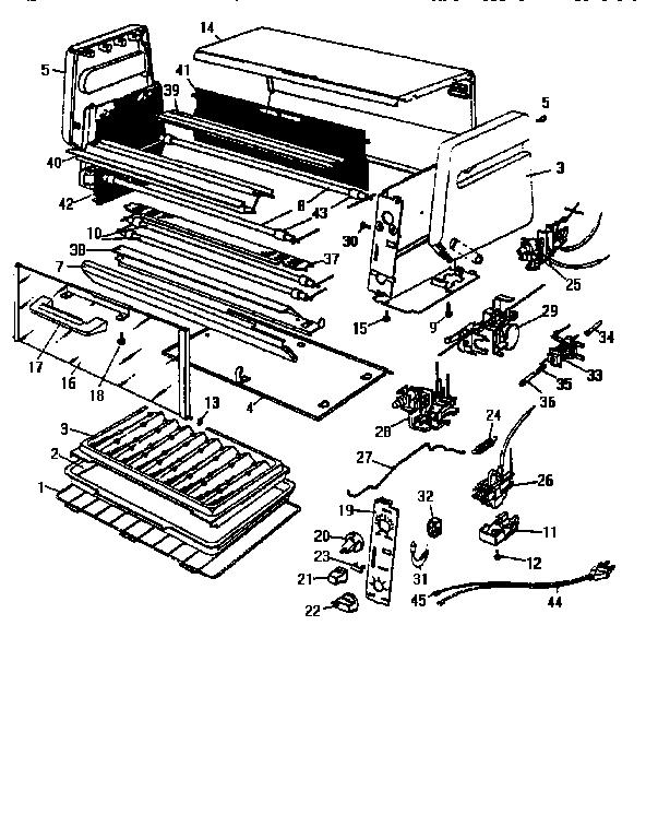 Black-Decker model TRO410UC TYPE 1 toaster oven genuine parts