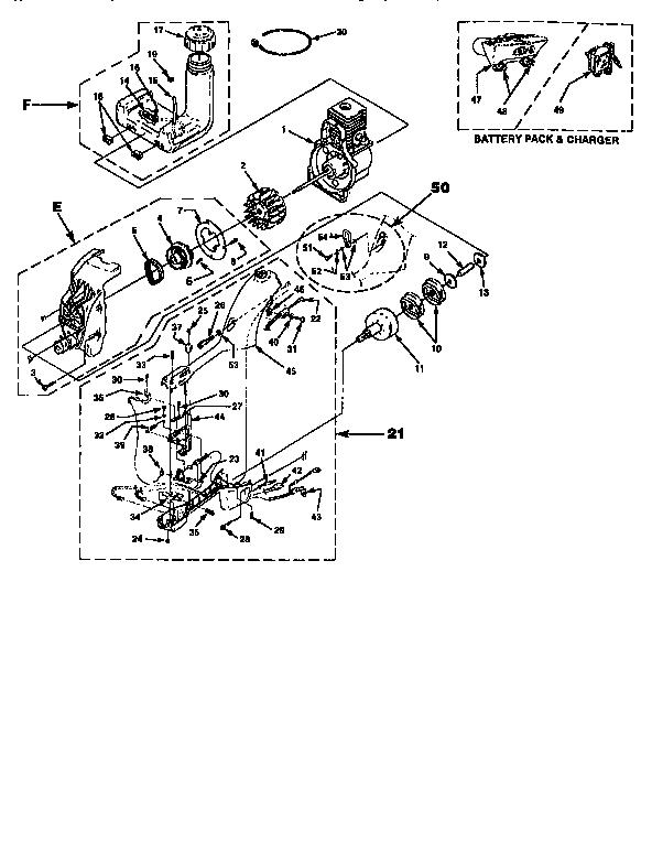 Homelite model UT-20616 line trimmers/weedwackers, gas