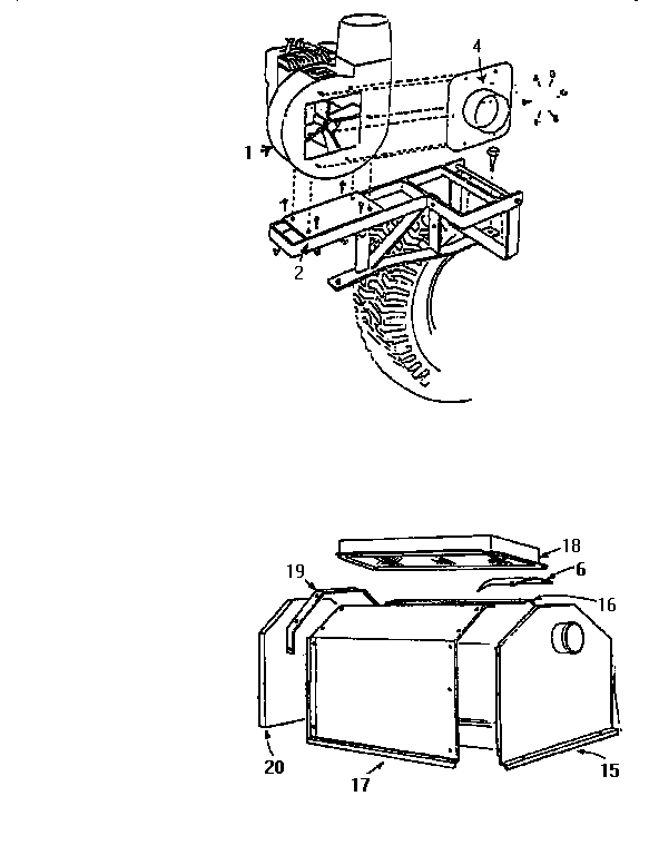 Craftsman model 521244913 lawn vacuum genuine parts