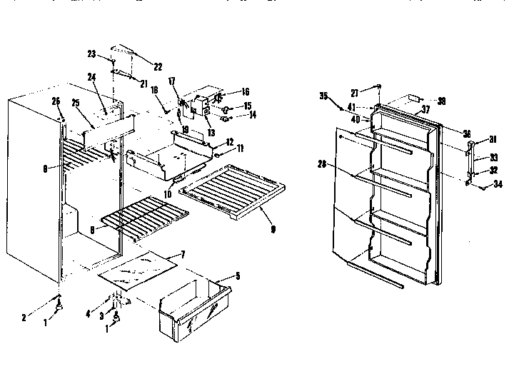 Sanyo model SR1010SW-01 kitchen-refrigerator compact