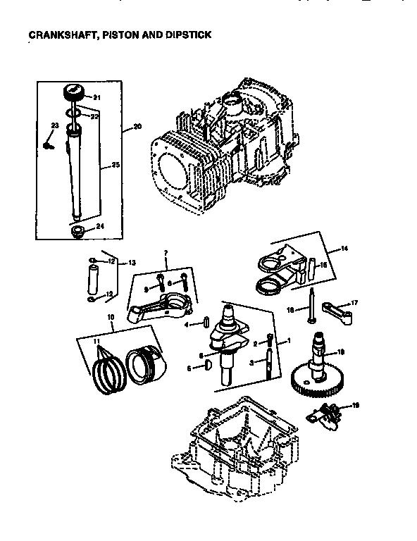 Briggs-Stratton model 28Q777-0662-A1 engine genuine parts