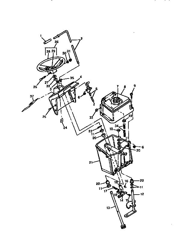 Sabre model 1538 lawn, tractor genuine parts