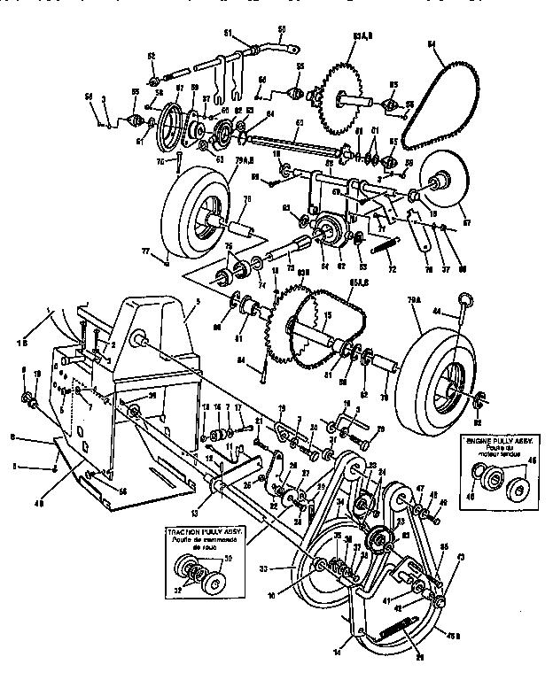 Signature model F2814-000 snowthrower, gas genuine parts