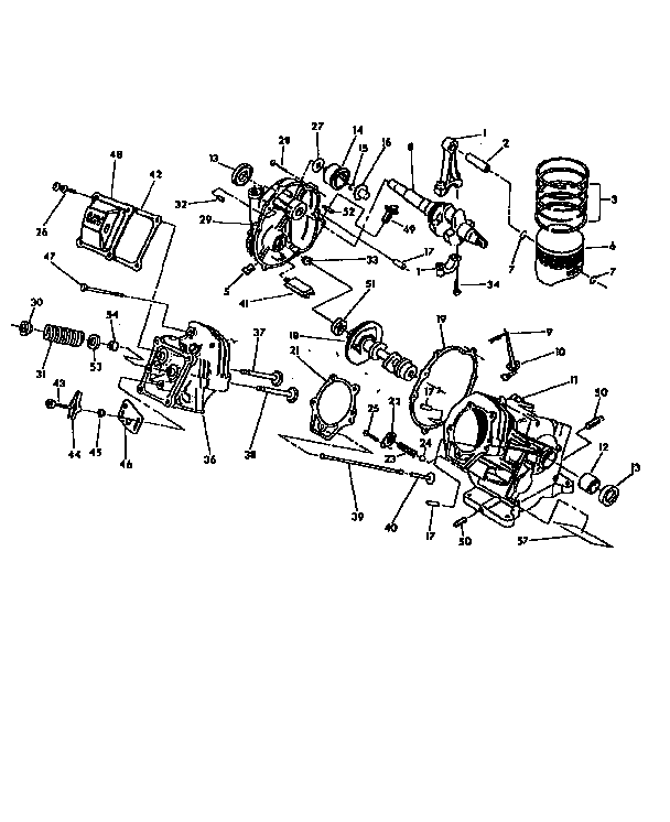Generac model 9777-0 generator genuine parts
