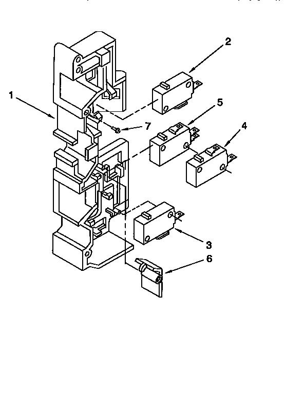 Kitchenaid model KHMC107BBL0 microwave/hood combo genuine