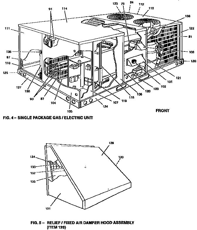 York model D3CG090N16558A package units(both units