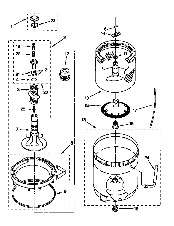 Kenmore Front Load Washer Troubleshooting Wiring Diagrams