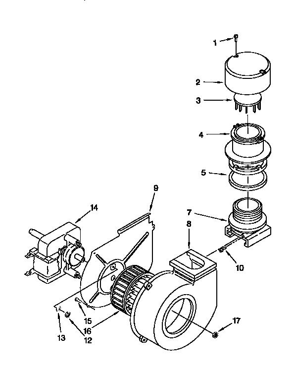 Kitchenaid model KUDI230B0 dishwasher genuine parts