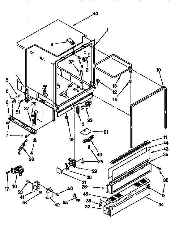 Whirlpool model DU920QWDB4 dishwasher genuine parts
