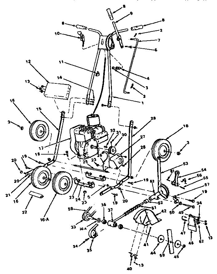 Mcclane model 801-3-5T edger genuine parts
