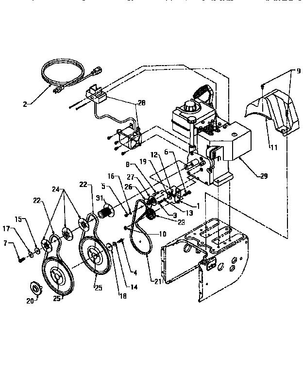 Craftsman model 247885570 snowthrower, gas genuine parts