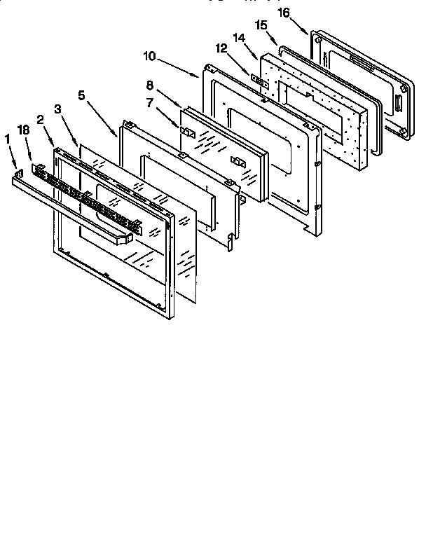Kitchenaid model KGBS276XWH0 range (gas) genuine parts