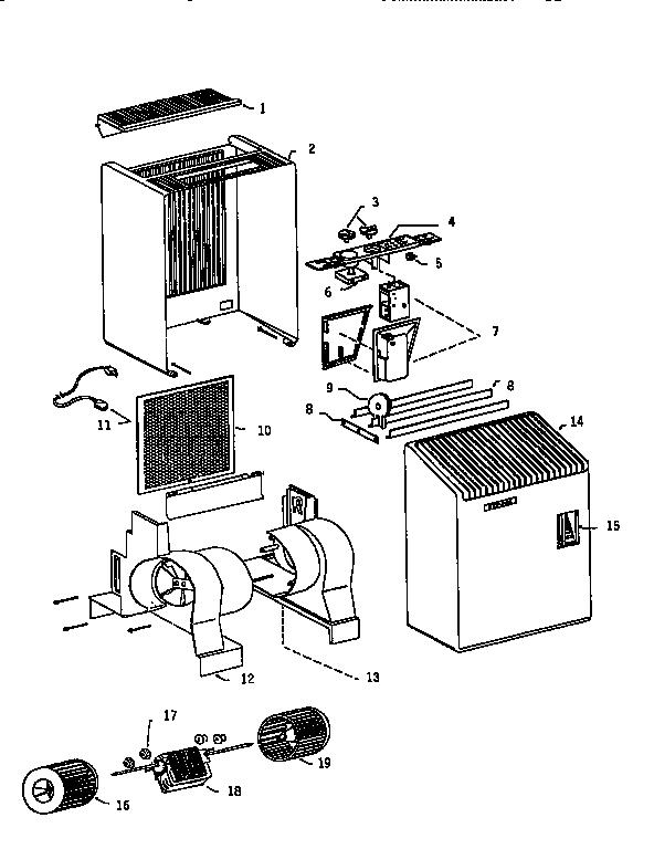 Bionaire model W-9 humidifier genuine parts