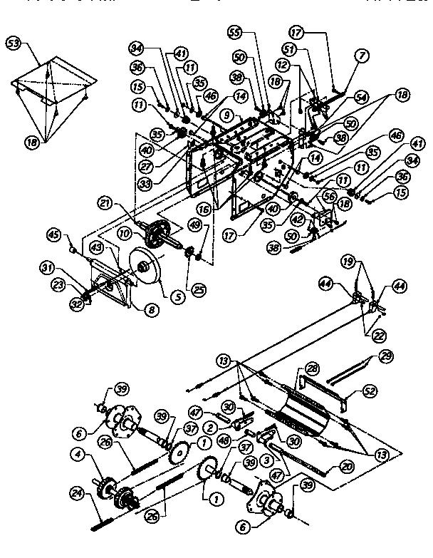 Craftsman model 247885690 snowthrower, gas genuine parts