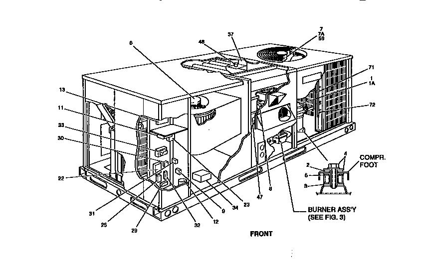 York model D6CG048N09925A package units(both units