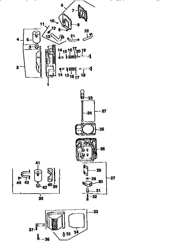 Kohler model CV20S-65530 engine genuine parts