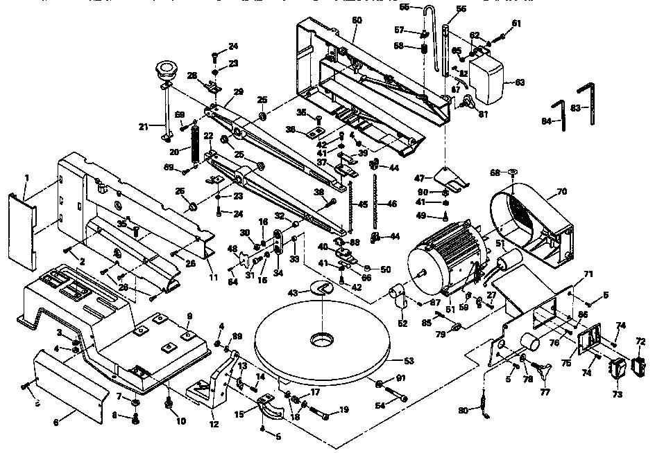 Dremel model 1671 TYPE 3 saw scroll genuine parts