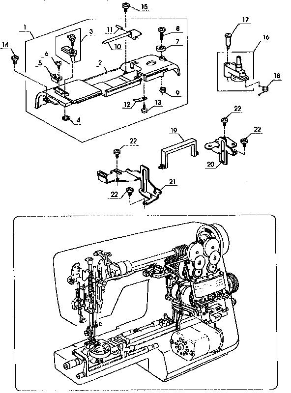 Kenmore model 38517126690 mechanical sewing machines