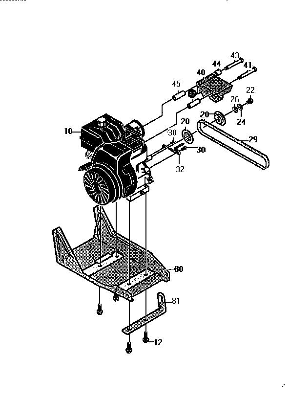 Craftsman model 536797470 edger genuine parts