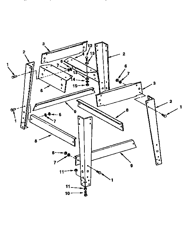Craftsman model 113299410 table saw genuine parts