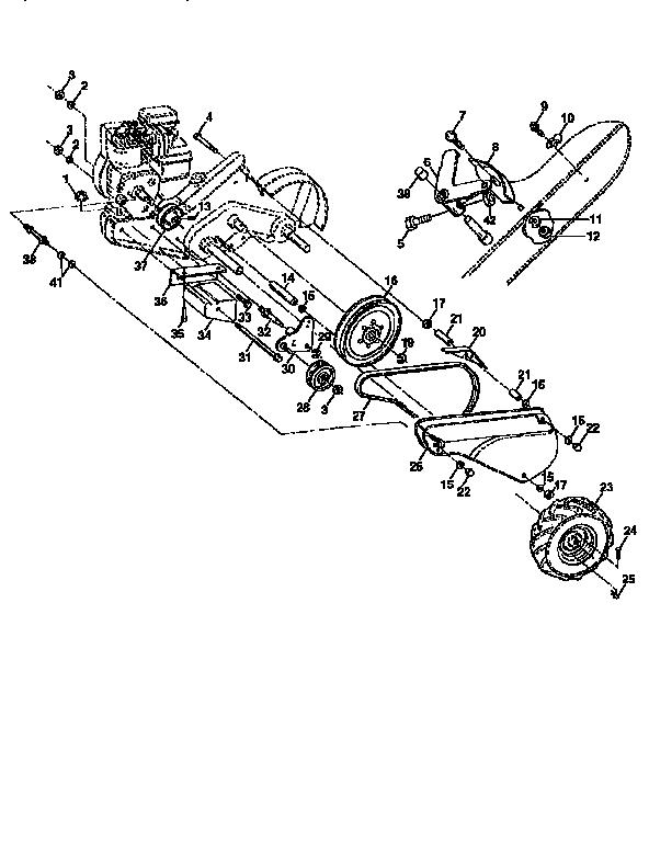 Craftsman model 917293550 rear tine, gas tiller genuine parts