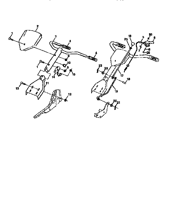 Craftsman model 917292450 front tine, gas tiller genuine parts