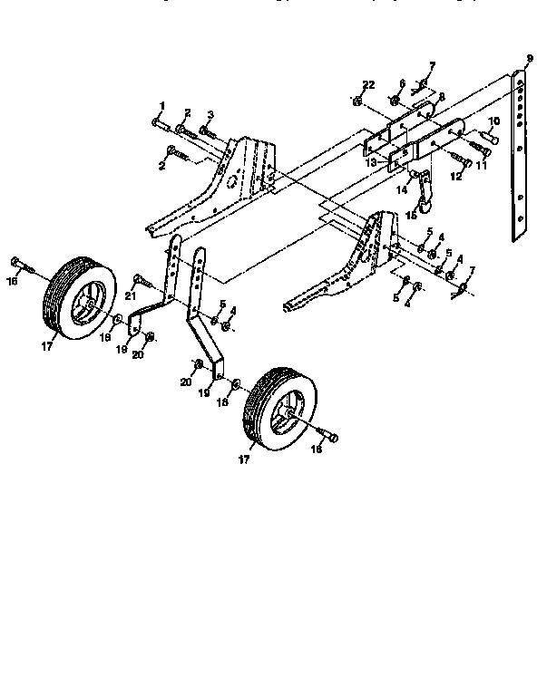 Craftsman model 917292350 front tine, gas tiller genuine parts