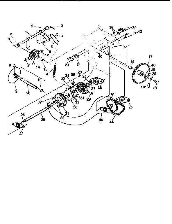 Craftsman model 536885471 snowthrower, gas genuine parts