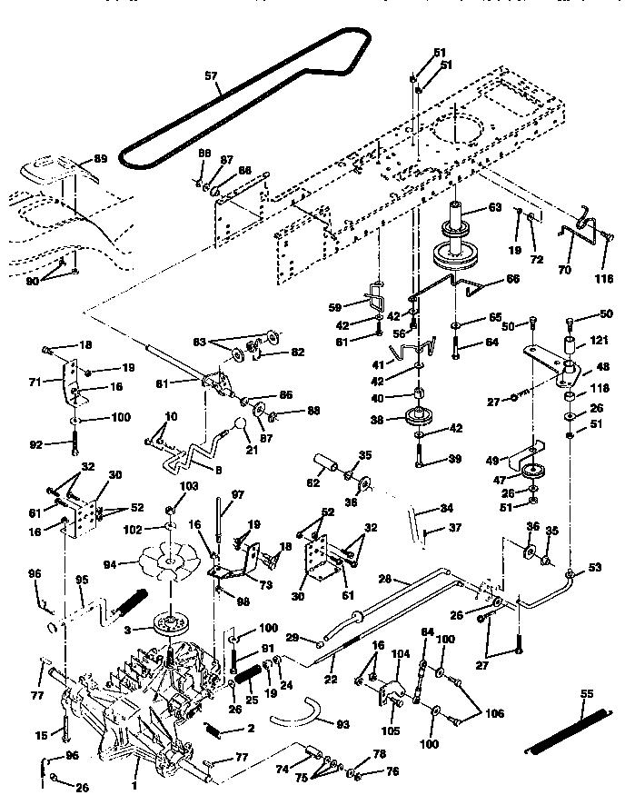 Craftsman model 917258531 lawn, tractor genuine parts