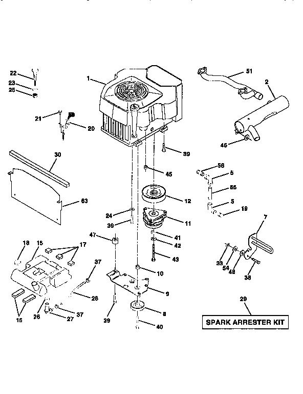 Western-Auto model AYP8228A79 lawn, tractor genuine parts