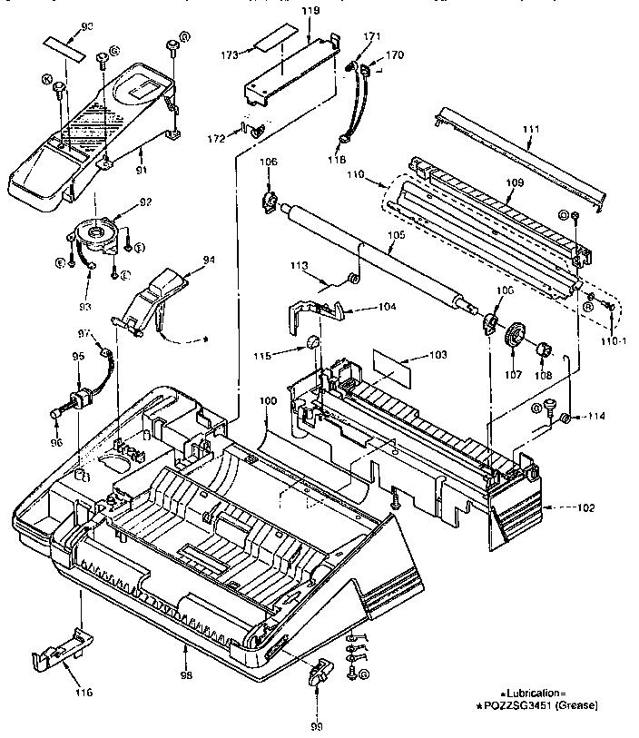 Panasonic model KX-F790 fax machines genuine parts